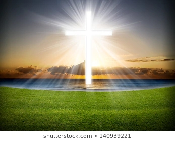 cross-sky-light-rays-sunrise-260nw-140939221